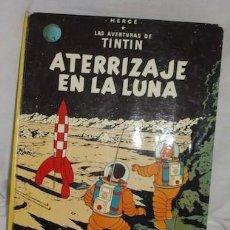 Cómics: LAS AVENTURAS DE TINTIN, ATERRIZAJE EN LA LUNA, ED. JUVENTUD, 1976. Lote 134086090
