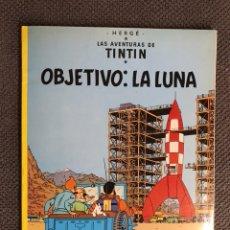 Cómics: TINTÍN. OBJETIVO LA LUNA. EDITORIAL: JUVENTUD (A.1988). Lote 134117701