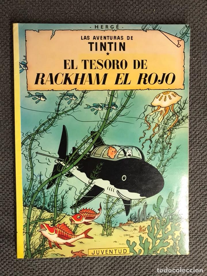 TINTÍN. EL TESORO DE RACKHAM EL ROJO EDITORIAL: JUVENTUD (Tebeos y Comics - Juventud - Tintín)