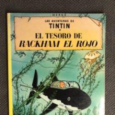 Cómics: TINTÍN. EL TESORO DE RACKHAM EL ROJO EDITORIAL: JUVENTUD. Lote 134118786