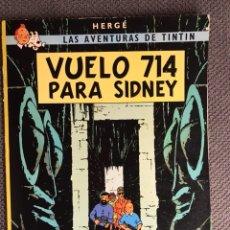 Cómics: TINTÍN. VUELO 714 PARA SIDNEY EDITORIAL: JUVENTUD (A.1988). Lote 134119079