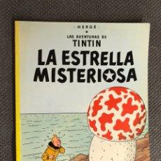 Cómics: TINTÍN. LA ESTRELLA MISTERIOSA. EDITORIAL: JUVENTUD. Lote 134119993