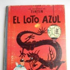 Cómics: TINTIN EL LOTO AZUL - ED. JUVENTUD 1965 - PRIMERA EDICION - BUEN ESTADO. Lote 134246418
