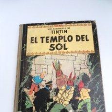 Cómics: TINTIN EL TEMPLO DEL SOL - ED. JUVENTUD 1961 - SEGUNDA EDICION - BUEN ESTADO. Lote 134246582