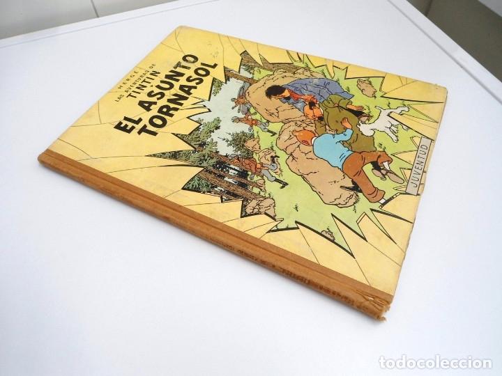Cómics: TINTIN EL ASUNTO TORNASOL - Ed. JUVENTUD 1968 - TERCERA EDICION - BUEN ESTADO - Foto 2 - 134246622