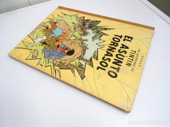 Cómics: TINTIN EL ASUNTO TORNASOL - Ed. JUVENTUD 1968 - TERCERA EDICION - BUEN ESTADO - Foto 3 - 134246622