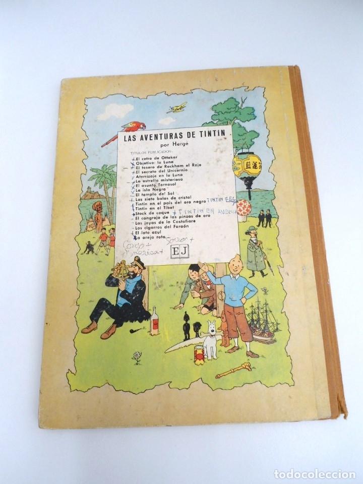 Cómics: TINTIN EL ASUNTO TORNASOL - Ed. JUVENTUD 1968 - TERCERA EDICION - BUEN ESTADO - Foto 4 - 134246622