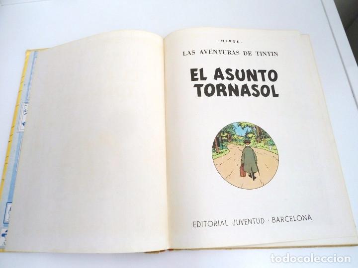 Cómics: TINTIN EL ASUNTO TORNASOL - Ed. JUVENTUD 1968 - TERCERA EDICION - BUEN ESTADO - Foto 7 - 134246622