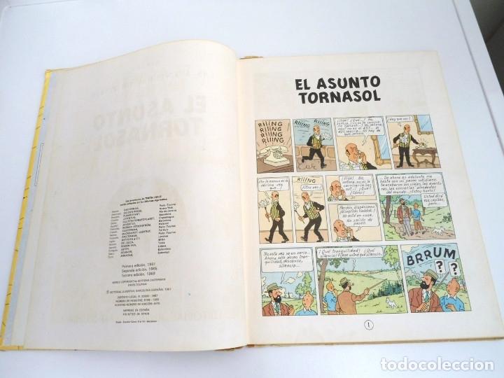 Cómics: TINTIN EL ASUNTO TORNASOL - Ed. JUVENTUD 1968 - TERCERA EDICION - BUEN ESTADO - Foto 8 - 134246622