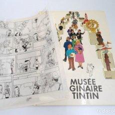 Cómics: LE MUSEE IMAGINAIRE DE TINTIN - PRIMERA EDICION 1979 - SOCIETE DES EXPOSITIONS BEAUX-ARTS BRUSELLES. Lote 134246982