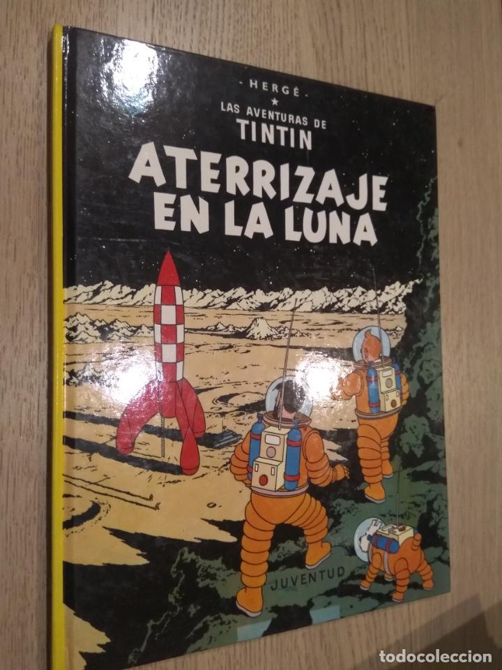 HERGÉ LAS AVENTURAS DE TINTÍN. ATERRIZAJE EN LA LUNA. JUVENTUD. 1995 (Tebeos y Comics - Juventud - Tintín)