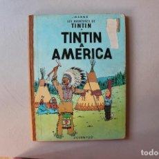 Cómics: TINTIN A AMERICA, PRIMERA EDICIÓN, CATALÀ, JUVENTUD 1968. Lote 134989258