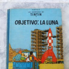 Cómics: LAS AVENTURAS DE TINTIN. OBJETIVO LA LUNA. EDT JOVENTUD. 1°EDC, DICIEMBRE 1958. Lote 135009478