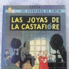Cómics: LAS AVENTURAS DE TINTIN. LAS JOYAS DE LA CASTAFIORE. EDT JOVENTUD. 1°EDC ABRIL 1964. Lote 135118738