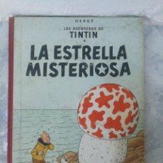 Cómics: LAS AVENTURAS DE TINTIN. LA ESTRELLA MISTERIOSA. EDT JOVENTUD. 1°EDC DICIEMBRE 1960. Lote 135118942