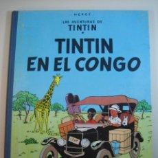 Cómics: TINTIN 1ª EDICIÓN (1958, JUVENTUD) 1 · 1964 · TINTIN EN EL CONGO *** EXCELENTE ****. Lote 134815834
