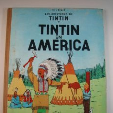 Cómics: TINTIN 2 ª EDICIÓN (1958, JUVENTUD) 2 · 1964 · TINTIN EN AMERICA*** EXCELENTE***. Lote 134817158