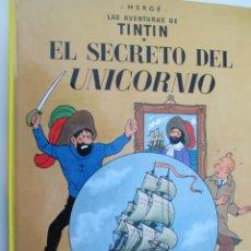 Cómics: LAS AVENTURAS DE TINTIN - HERGÉ- EL SECRETO DEL UNICORNIO - EDITORIAL JUVENTUD. Lote 135158222