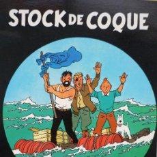 Cómics: TINTIN STOCK DE COQUE.SEGUNDA EDICION 2003.. Lote 135163438