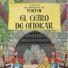 Cómics: TINTIN EL CENTRO DE OTTOKAR.. Lote 135164374