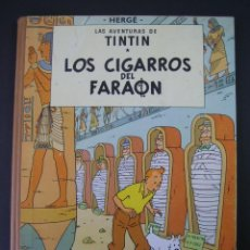 Cómics: TINTIN 3 ª EDICIÓN (1958, JUVENTUD) 3 · 1968 · LOS CIGARROS DEL FARAON **** EXCELENTE ***. Lote 135325494