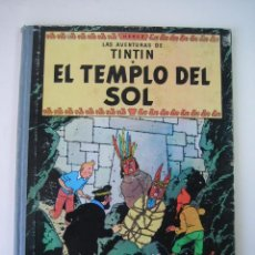 Cómics: TINTIN 2 ª EDICIÓN (1958, JUVENTUD) 13 · 1961 · EL TEMPLO DEL SOL. Lote 135345242