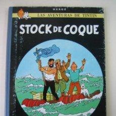 Cómics: TINTIN 3ª EDICIÓN (1958, JUVENTUD) 18 · 1967· STOCK DE COQUE. Lote 135358802