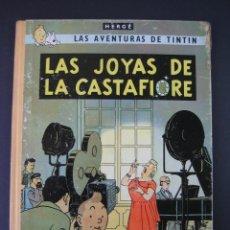 Cómics: TINTIN 2ª EDICIÓN (1958, JUVENTUD) 20 · 1965 · LAS JOYAS DE LA CASTAFIORE. Lote 135359478