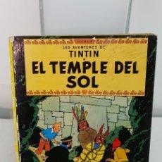 Cómics: TINTI I EL TEMPLE DEL SOL. Lote 135615382