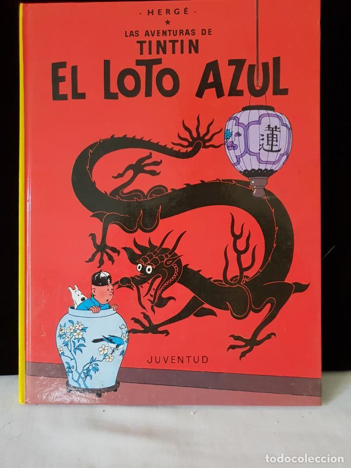 TINTIN Y EL LOTO AZUL (Tebeos y Comics - Juventud - Tintín)