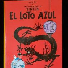 Cómics: TINTIN Y EL LOTO AZUL. Lote 135630595