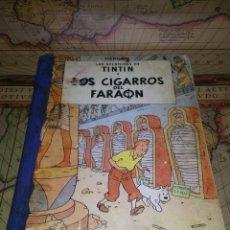 Cómics: LAS AVENTURAS DE TINTÍN- LOS CIGARROS DEL FARAÓN- PRIMERA EDICIÓN JULIO DE 1964.. Lote 135722215