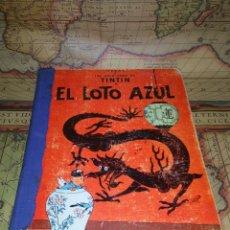 Cómics: LAS AVENTURAS DE TINTÍN-EL LOTO AZUL- PRIMERA EDICIÓN 1965.. Lote 135722691