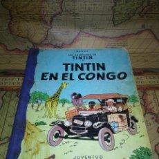 Cómics: LAS AVENTURAS DE TINTÍN-TINTÍN EN EL CONGO- PRIMERA EDICIÓN DICIEMBRE DE 1968.. Lote 135725699