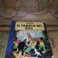 Cómics: LAS AVENTURAS DE TINTÍN-EL TEMPLO DEL SOL- SEGUNDA EDICIÓN 1961. Lote 135726343