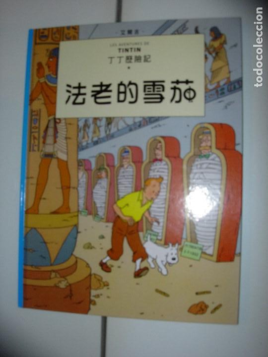 TINTIN IDIOMAS - LOS CIGARROS DEL FARAON - CHINO TAIWAN - IDIOMA (Tebeos y Comics - Juventud - Tintín)