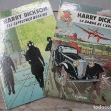 Cómics: HARRY DICKSON - NUMEROS 1 Y 2 - CATALAN - CATALA -EDITORIAL JOVENTUT. Lote 135758178