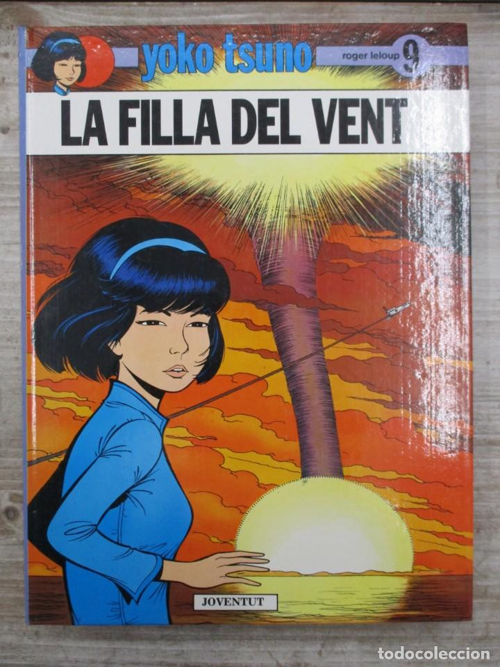 YOKO TSUNO - LA FILLA DELVENT - Nº 9 - JOVENTUT -MUY BUEN ESTADO - CATALAN -CATALA (Tebeos y Comics - Juventud - Yoko Tsuno)