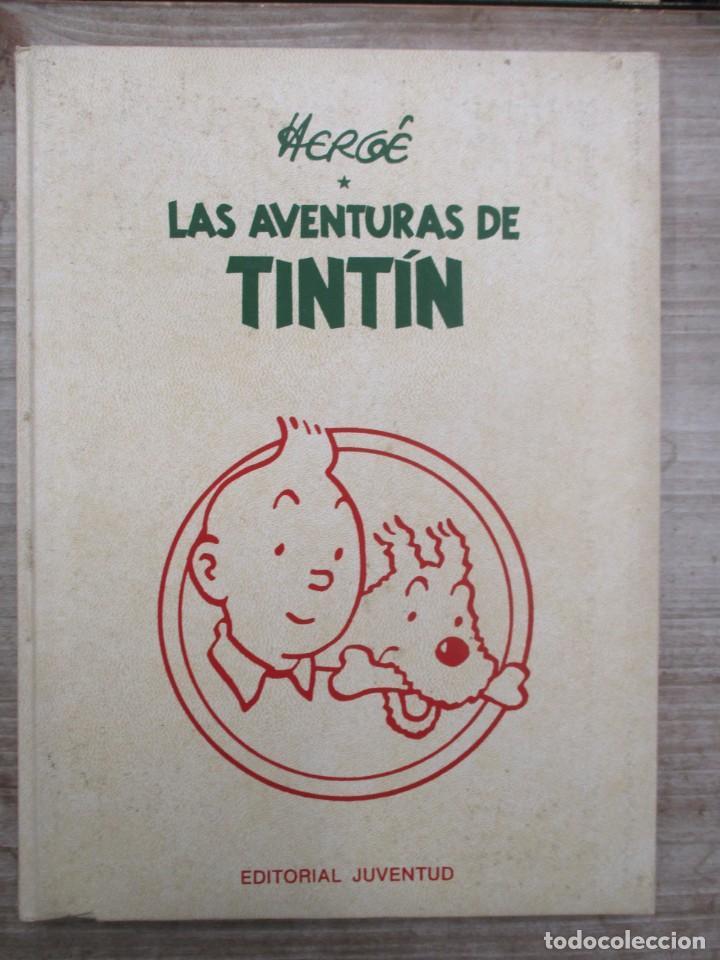 HERGE - LAS AVENTURAS DE TINTIN - TOMO 3 - EDICION DE LUJO - EDITORIAL JUVENTUD (Tebeos y Comics - Juventud - Tintín)