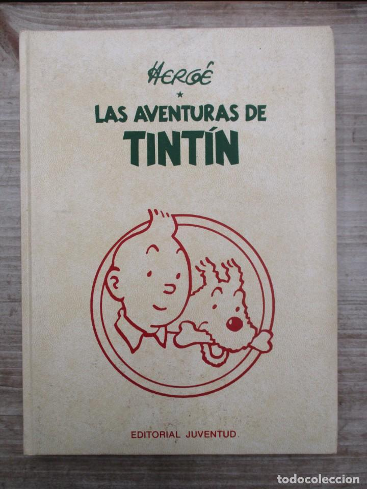 HERGE - LAS AVENTURAS DE TINTIN - TOMO 6 - EDICION DE LUJO - EDITORIAL JUVENTUD (Tebeos y Comics - Juventud - Tintín)