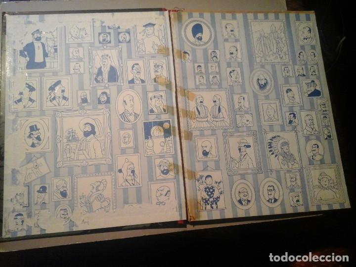 Cómics: HERGÉ. TINTIN. ON A MARCHÉ SUR LA LUNE. EDICIÓN ORIGINAL BELGA (BELGIQUE) 1954. CASTERMAN. RARO. - Foto 2 - 136270870