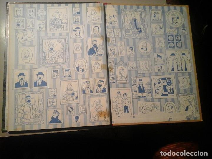 Cómics: HERGÉ. TINTIN. ON A MARCHÉ SUR LA LUNE. EDICIÓN ORIGINAL BELGA (BELGIQUE) 1954. CASTERMAN. RARO. - Foto 6 - 136270870