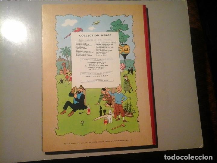 Cómics: HERGÉ. TINTIN. ON A MARCHÉ SUR LA LUNE. EDICIÓN ORIGINAL BELGA (BELGIQUE) 1954. CASTERMAN. RARO. - Foto 7 - 136270870
