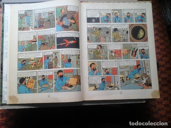 Cómics: HERGÉ. TINTIN. ON A MARCHÉ SUR LA LUNE. EDICIÓN ORIGINAL BELGA (BELGIQUE) 1954. CASTERMAN. RARO. - Foto 8 - 136270870