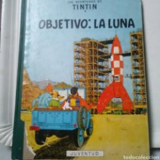 Cómics: OBJETIVO LA LUNA. HERGÉ. LAS AVENTURAS DE TINTIN. 1 EDICION. 1958.. Lote 136282194