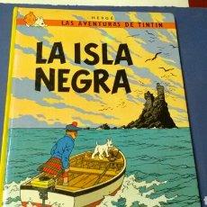 Comics - TINTIN .LA ISLA NEGRA .Hergé .Ed.Juventud . - 136497053