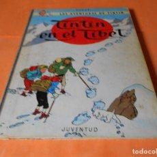 Cómics: TINTIN - TINTIN EN EL TIBET. 4ª EDICION 1970- HERGE-EDITORIAL JUVENTUD - LOMO DE TELA. Lote 136555390
