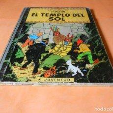 Cómics - TINTIN - EL TEMPLO DEL SOL. 4ª EDICION 1970- HERGE-EDITORIAL JUVENTUD - LOMO DE TELA - 136555734