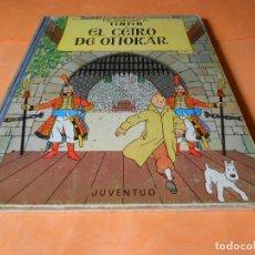 Cómics: TINTIN - EL CETRO DE OTTOKAR. 4ª EDICION 1968- HERGE-EDITORIAL JUVENTUD - LOMO DE TELA. Lote 136556490