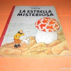 Cómics: TINTIN - LA ESTRELLA MISTERIOSA. 3ª EDICION 1967- HERGE-EDITORIAL JUVENTUD - LOMO DE TELA. Lote 136557962